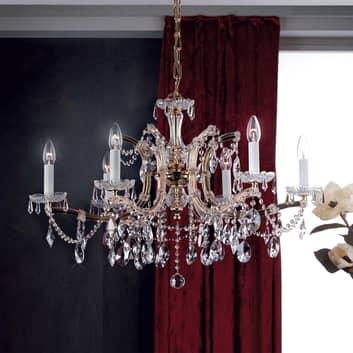 Lámpara de araña TJURA en estilo muy clásico