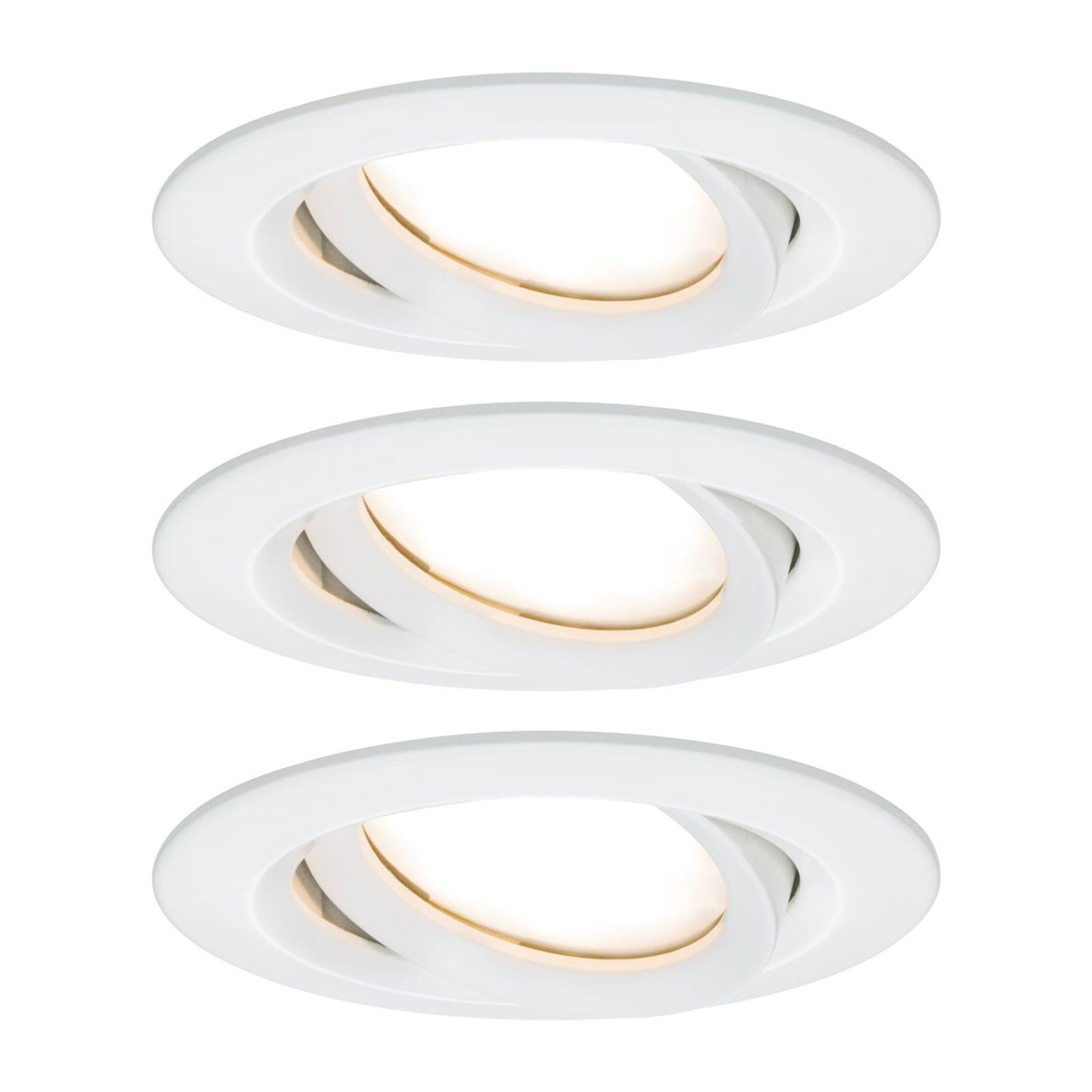Paulmann Nova Plus 3er LED-Spot rund weiß