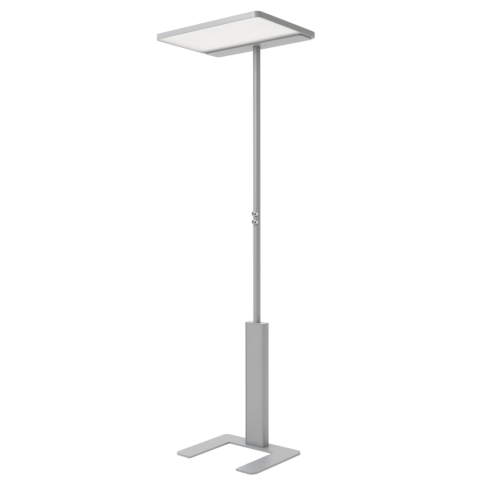 LED-Bürostehleuchte LINEA-F, dimmbar, CCT, grau