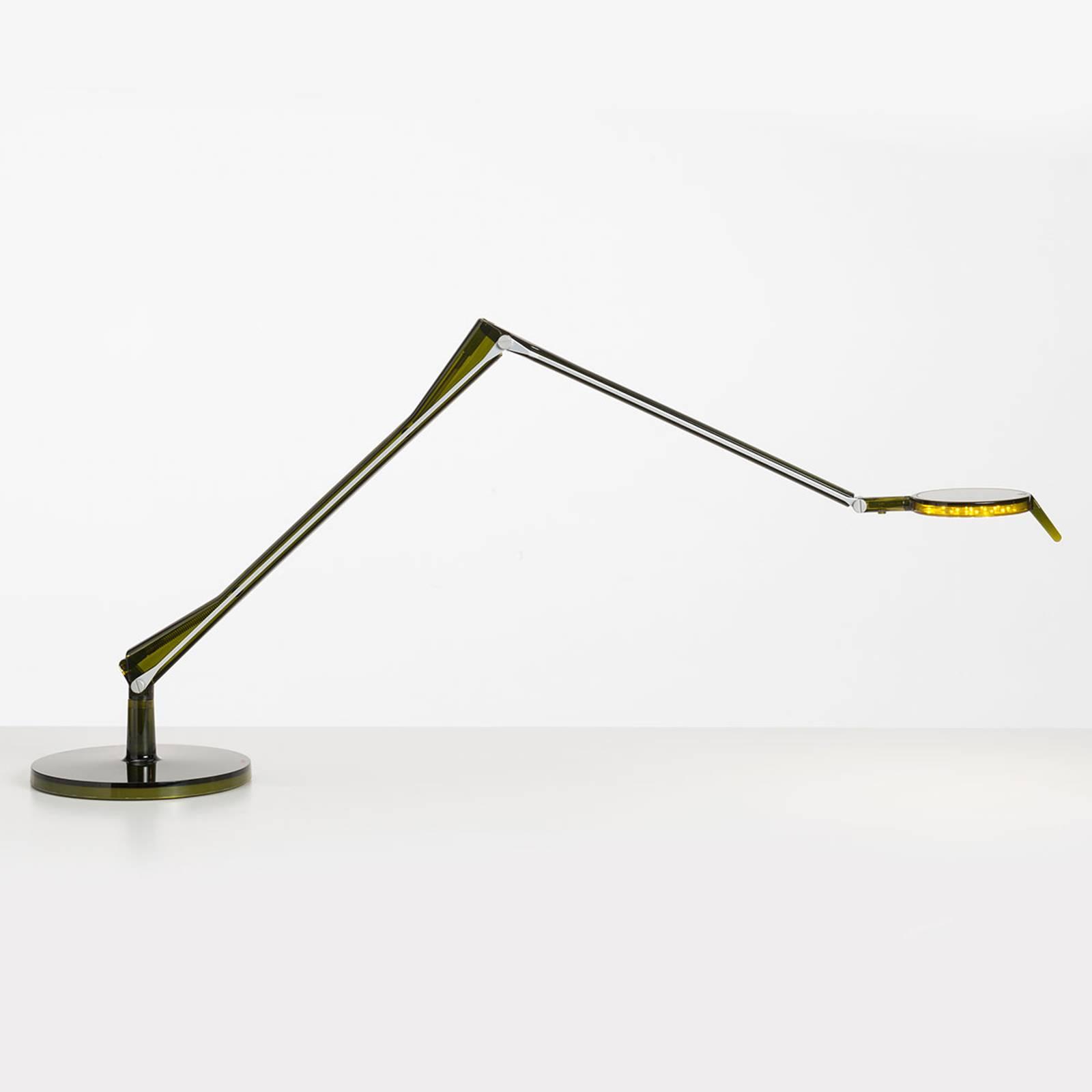 Kartell Aledin Tec lampe à poser LED, verte