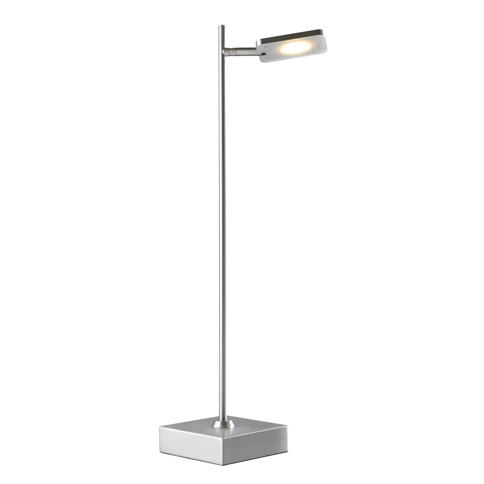 Quad LED-bordlampe, dæmper, 1 lyskilde, alu