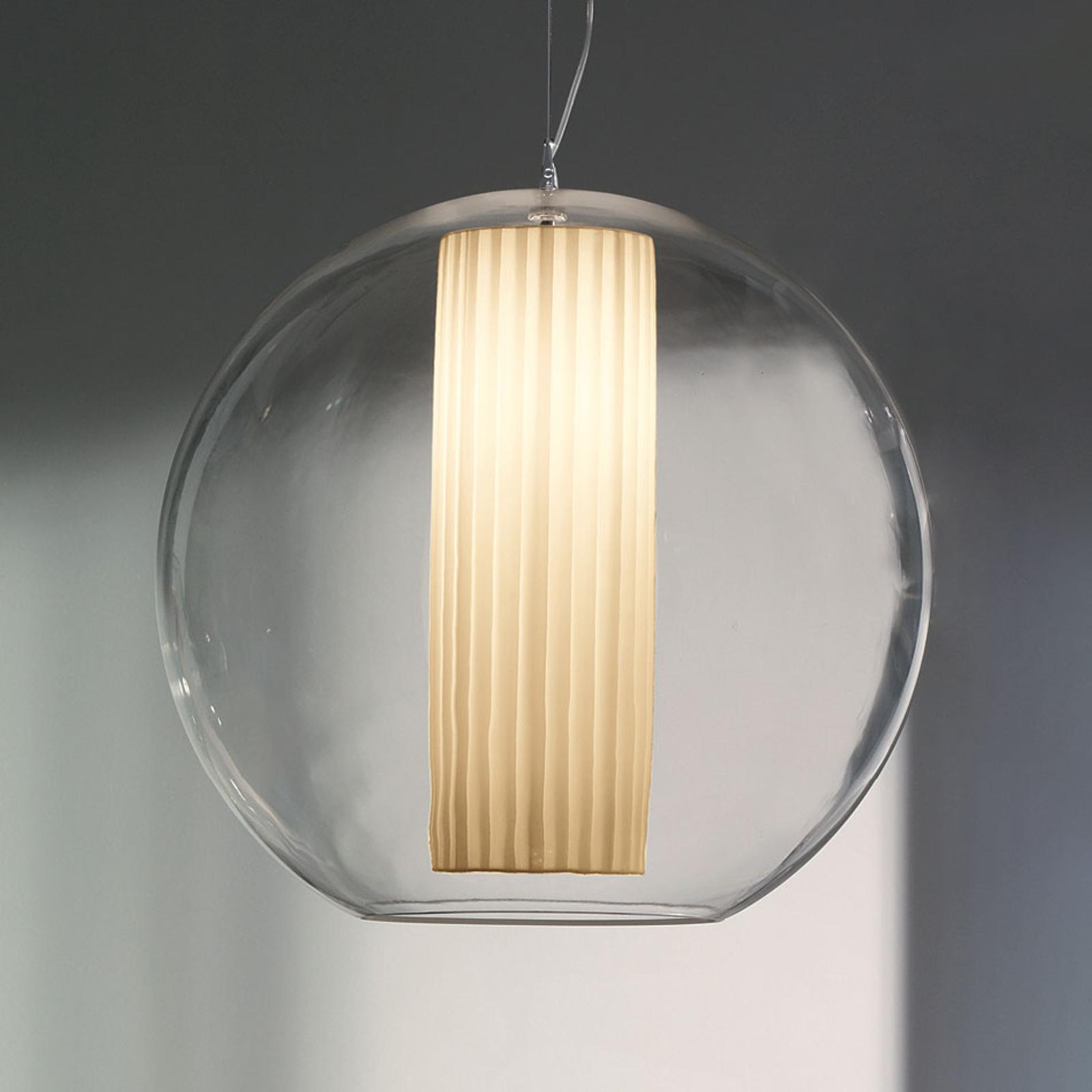Modo Luce Bolla hanglamp stof wit Ø 60cm