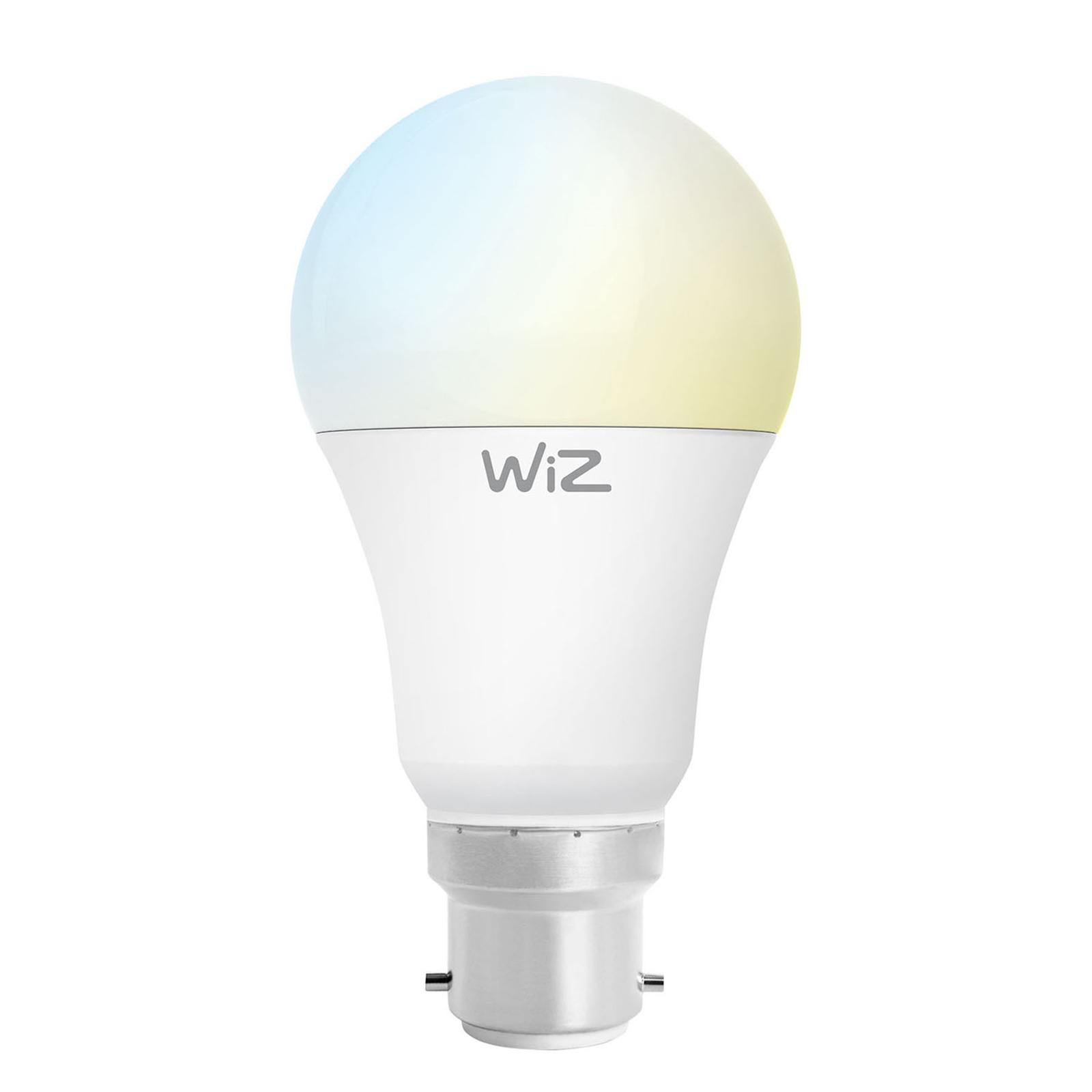 WiZ B22 ampoule LED poire A60 mate 9W 2700-6500K