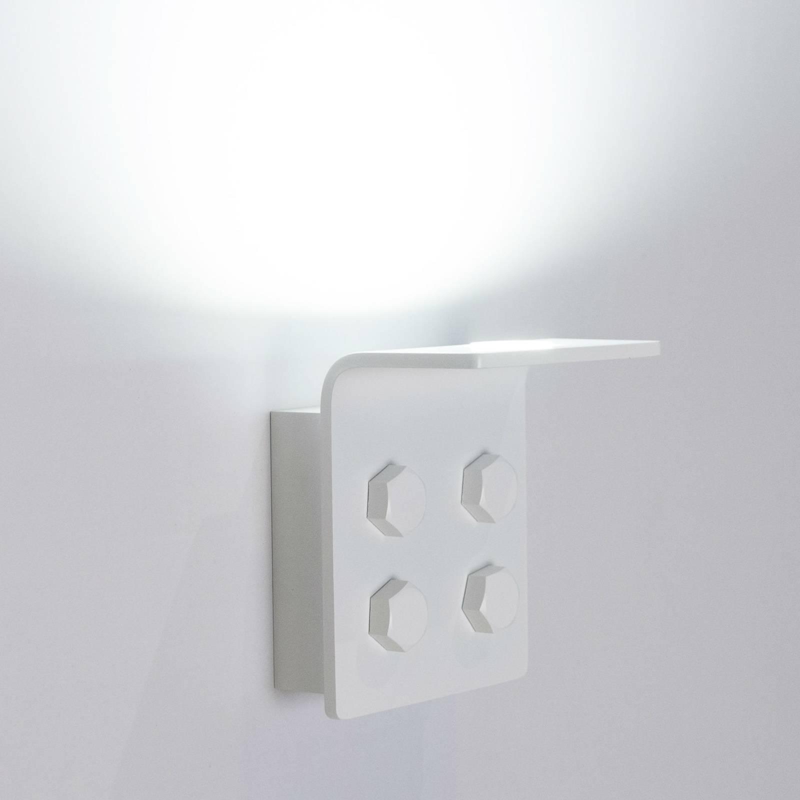 Innermost Bolt LED wandlamp, wit, dimbaar
