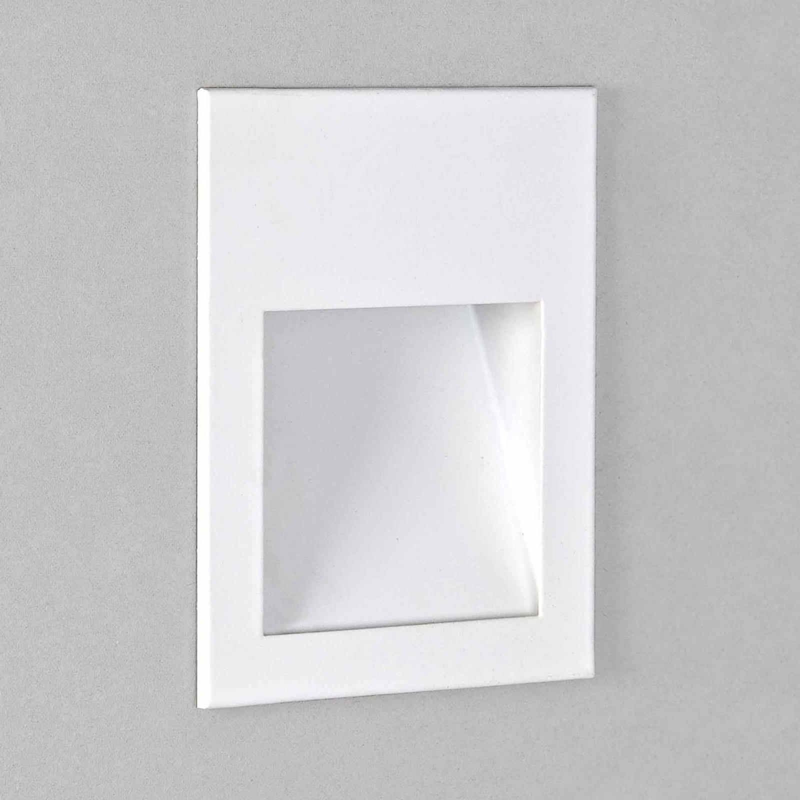 Astro Borgo 90 Wandeinbauleuchte weiß matt