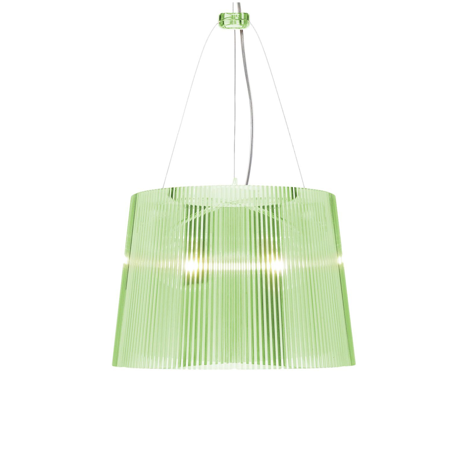 Kartell Gé LED-Hängeleuchte grün