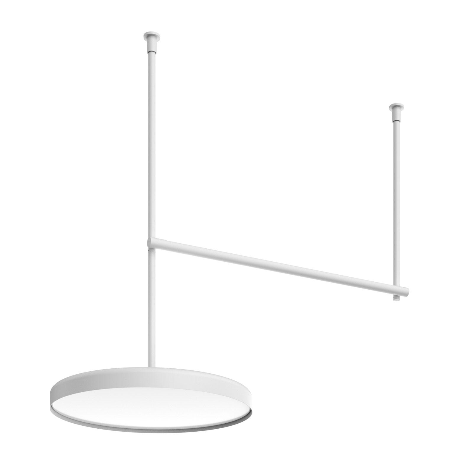 FLOS Infra-Structure C3 LED-taklampe, hvit