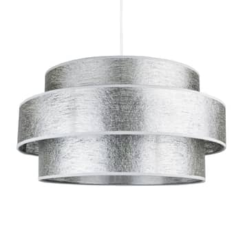 Lámpara colgante Space, plata brillante