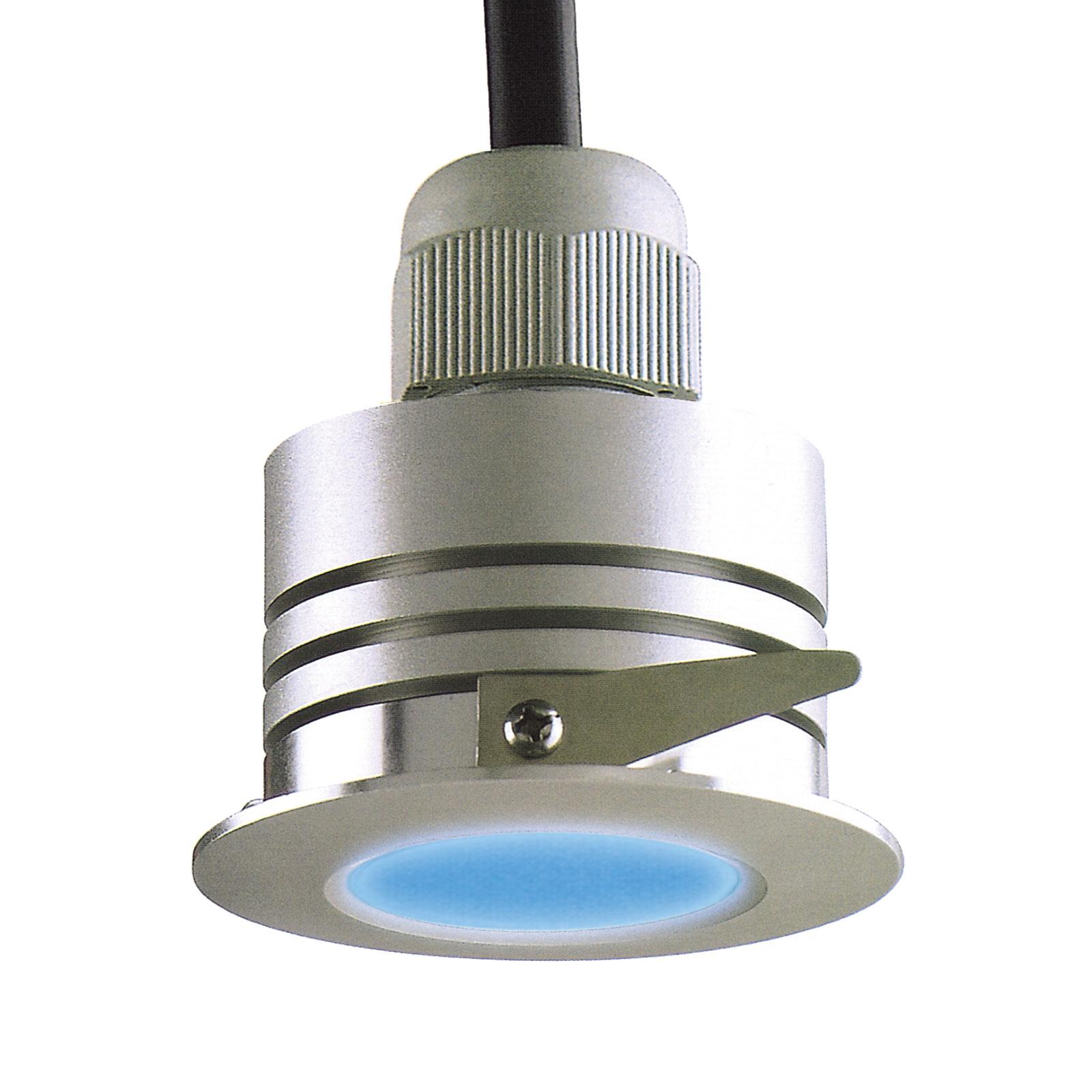LED-Einbauspot Prato mit automatischem Farbverlauf