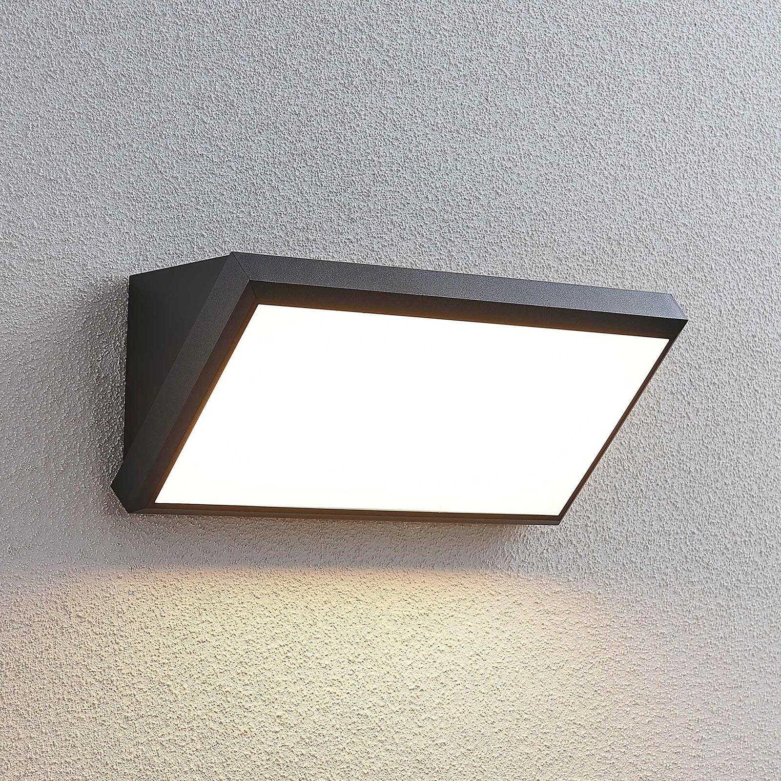 LED-Außenwandleuchte Abby mit Sensor
