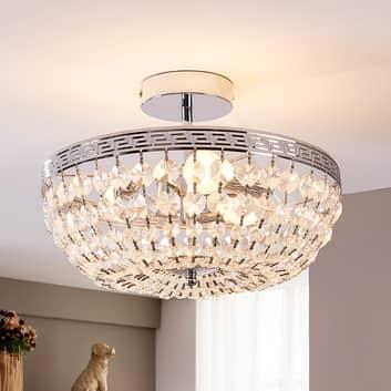 Gnistrande kristalltaklampa Mondrian