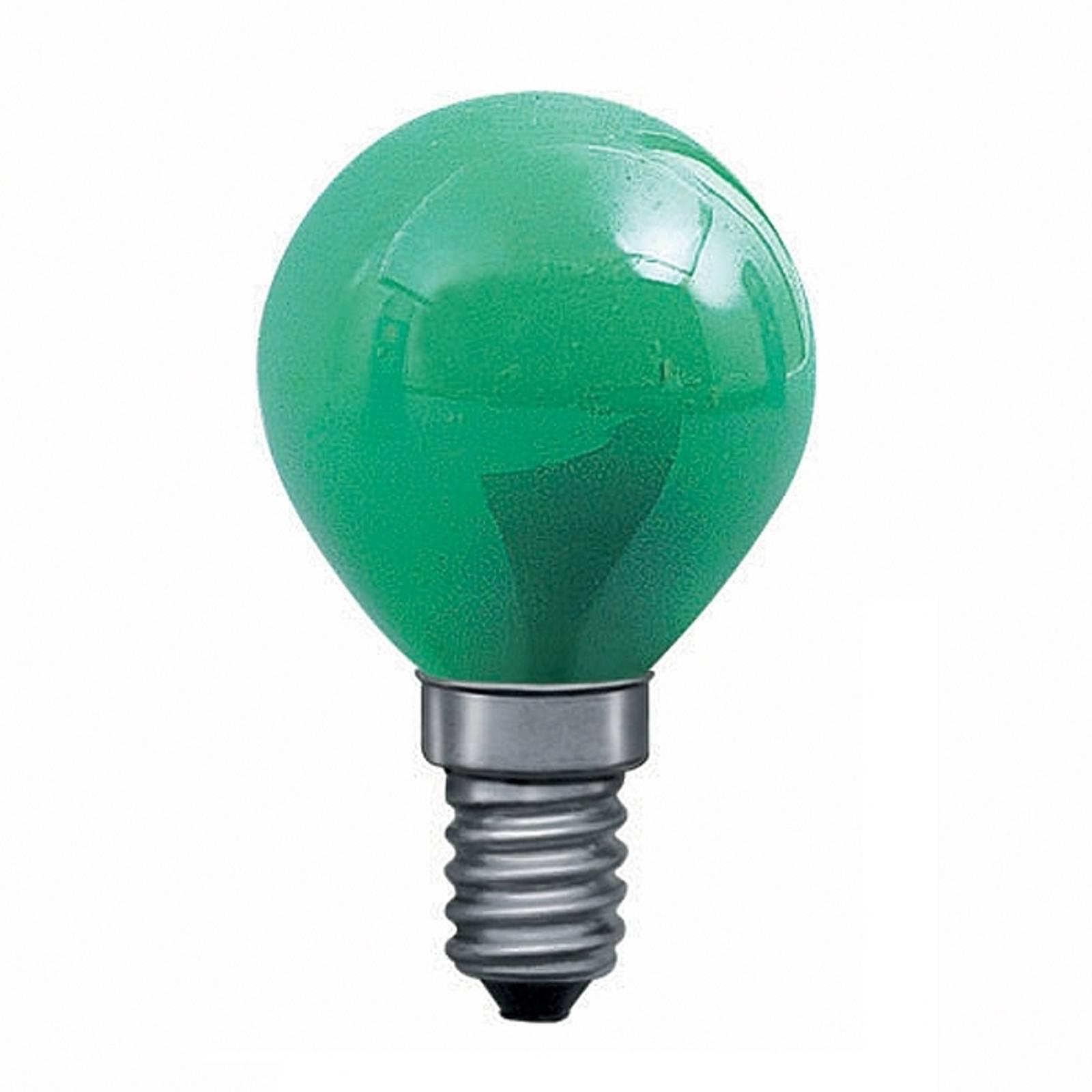 E14 25W dråbepære til lyskæder, grøn