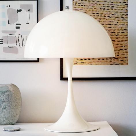 Zacht verlichtende tafellamp Panthella