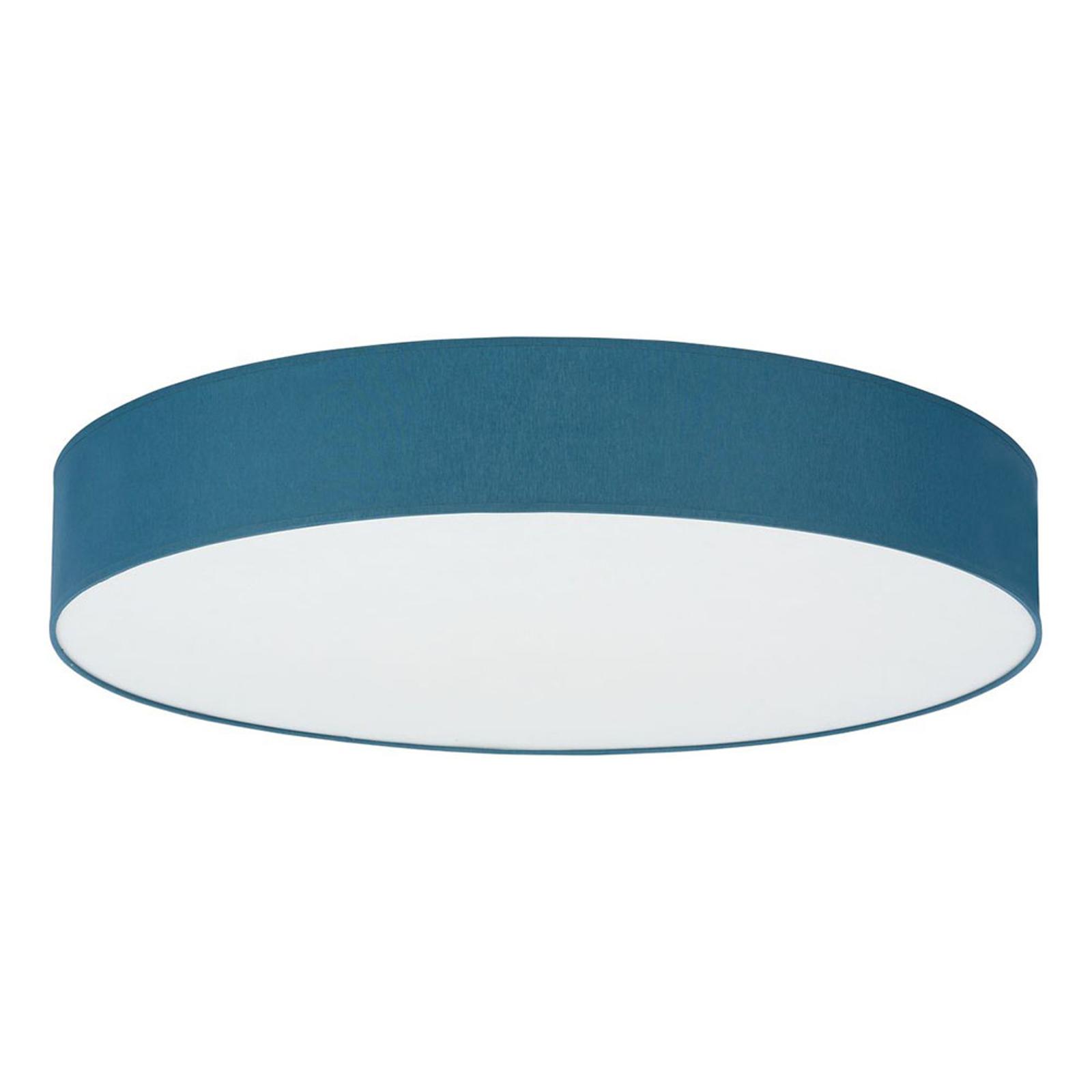 Taklampe Rondo, Ø 80 cm, blå
