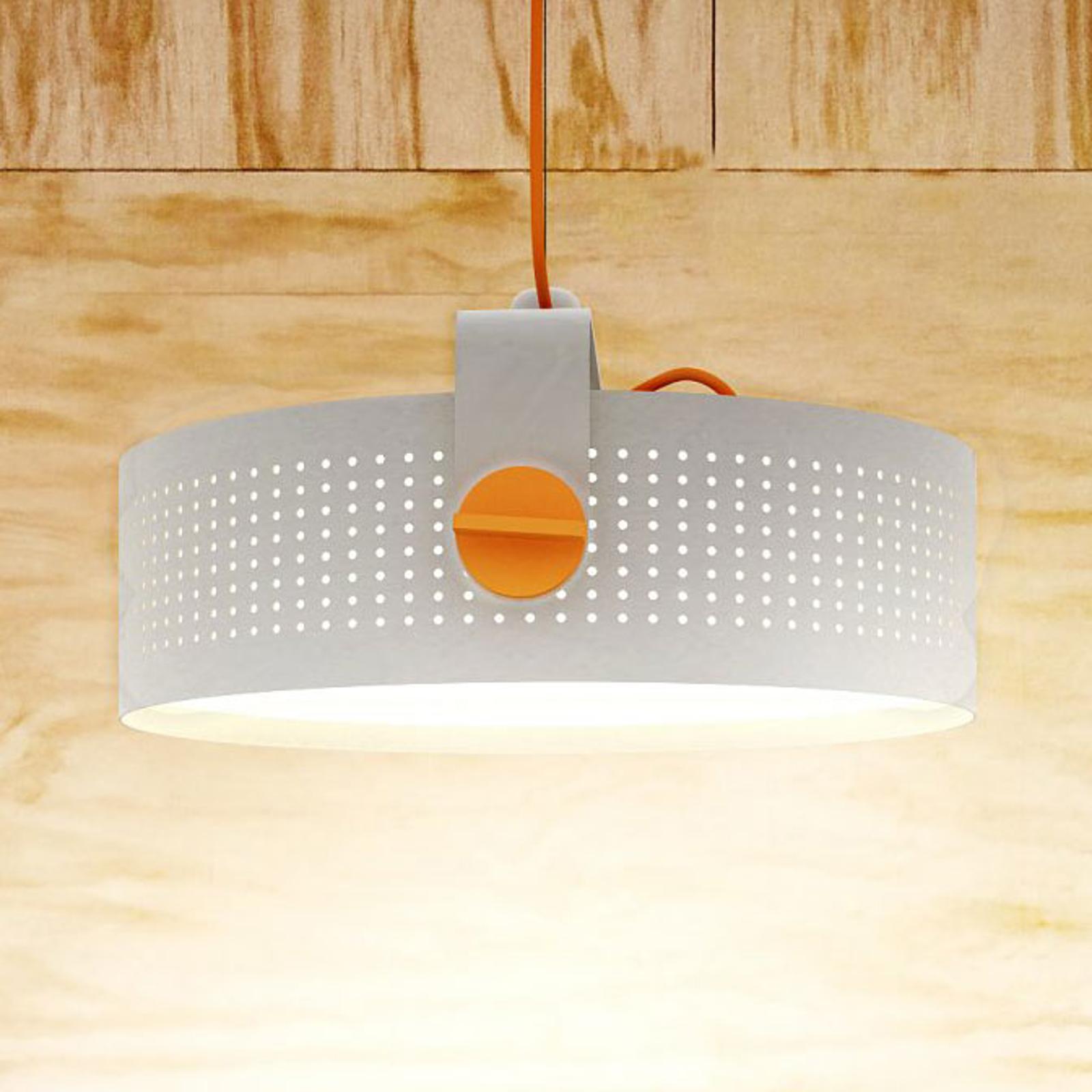 Martinelli Luce Modena LED-Hängeleuchte, weiß