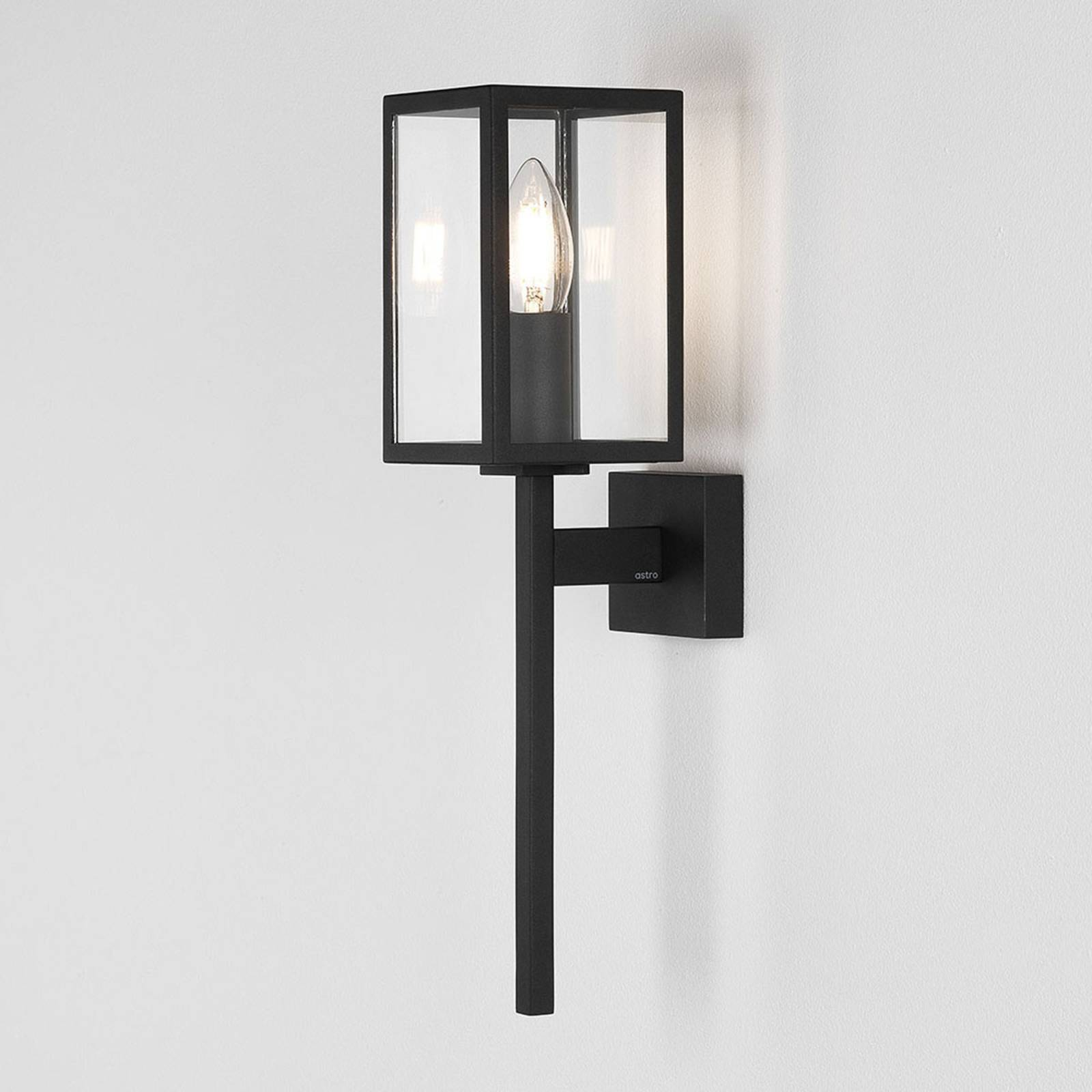 Astro Coach 100 - buitenwandlamp in zwart