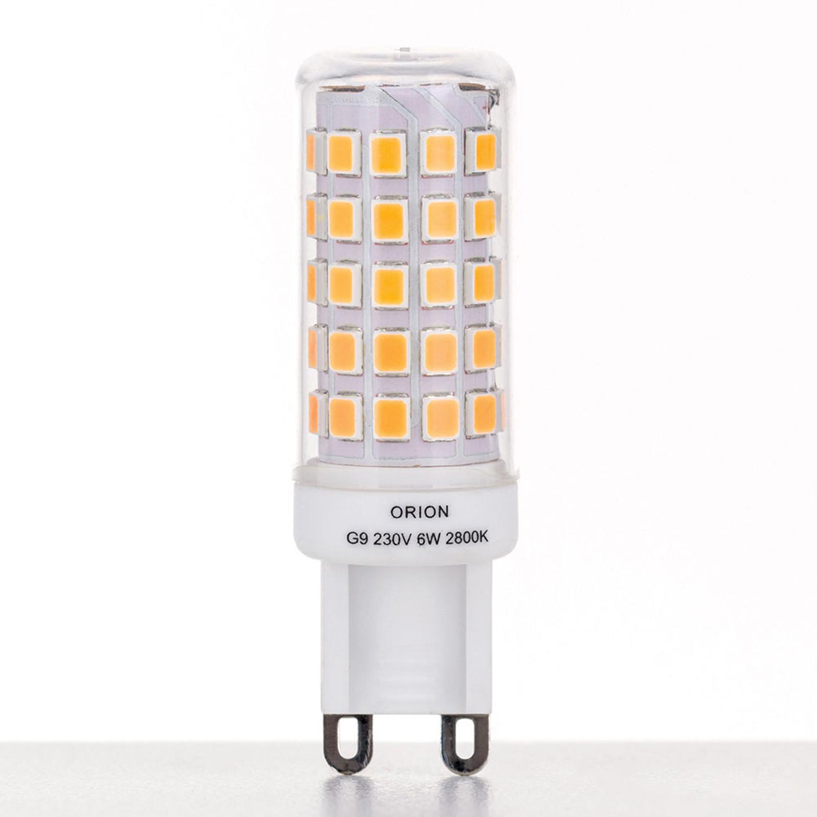 LED-stiftlampa G9 6W 2800K dimbar