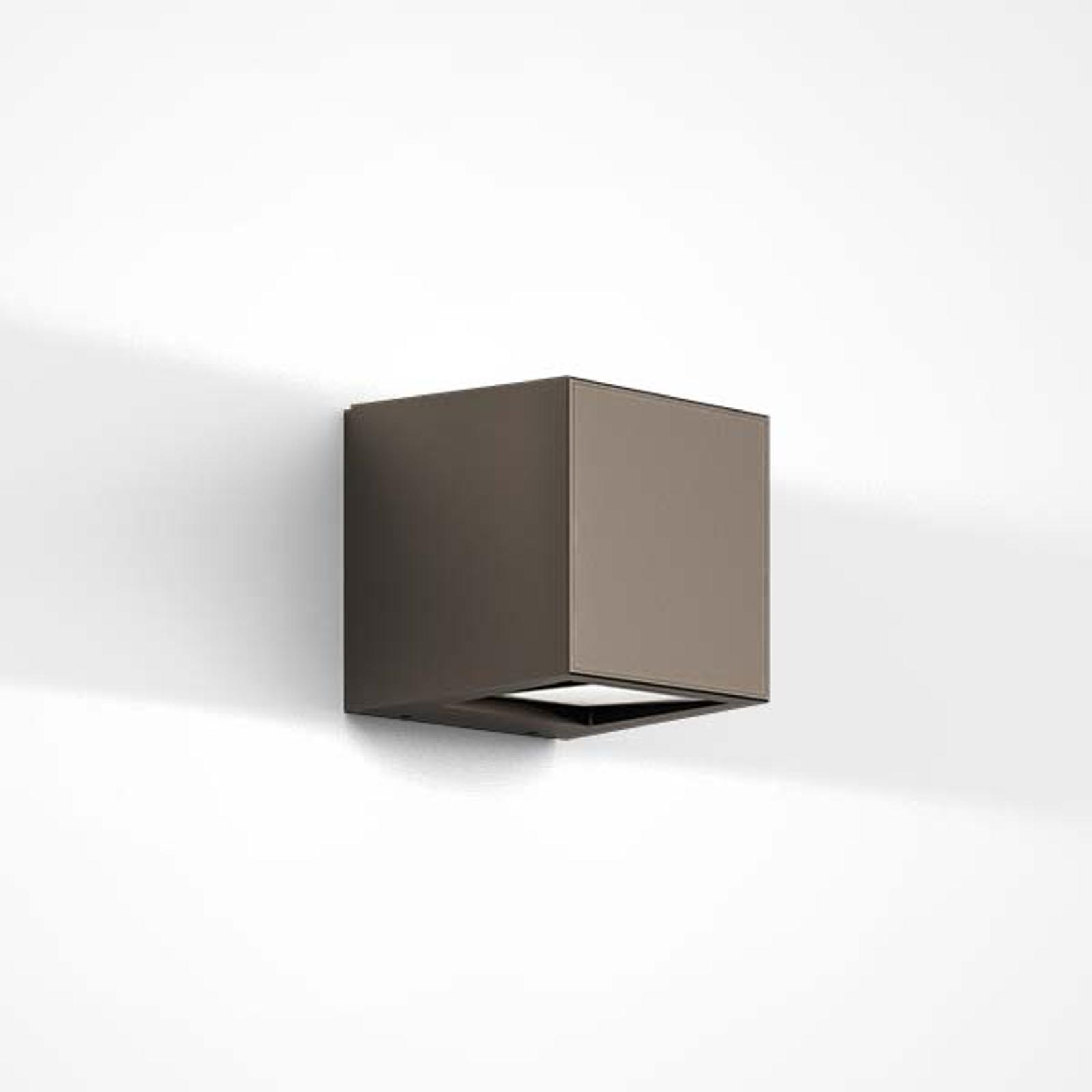 IP44.de Gap Q - LED buitenwandlamp, bruin