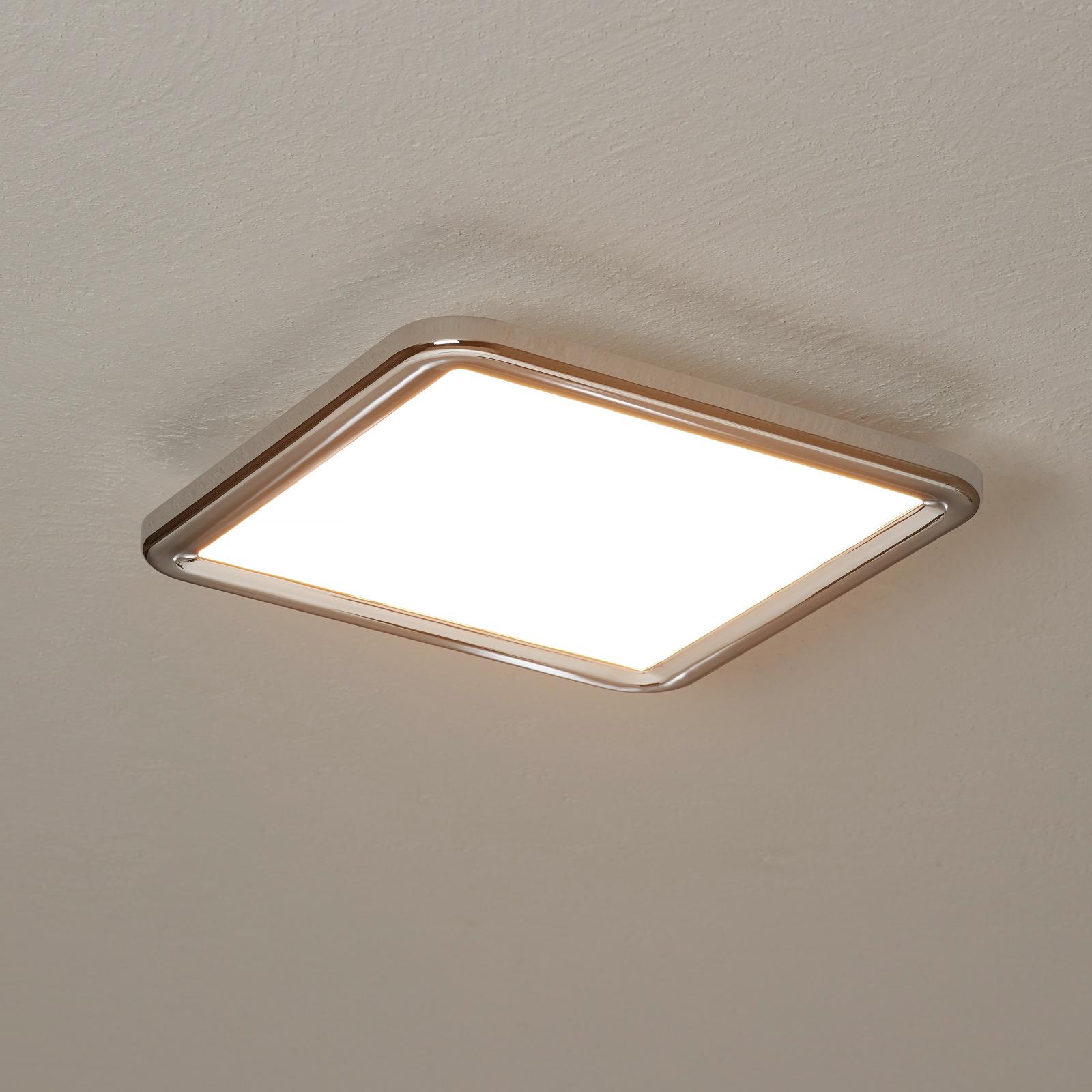 Lampa sufitowa LED Neptun, easydim 30x30cm, chrom