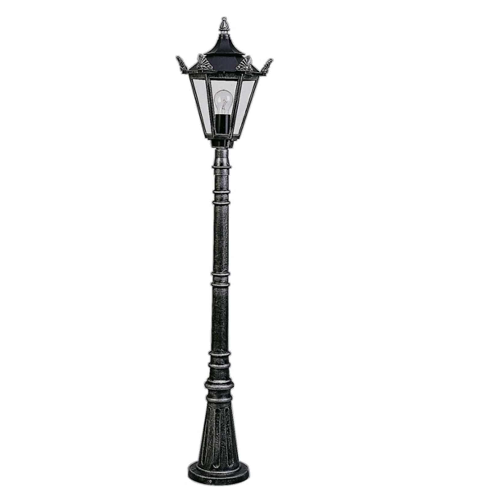 Lampadaire style rustique 754 noir