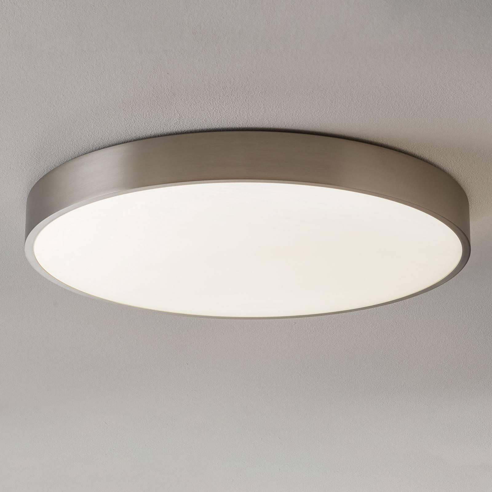 BEGA Planeta lampa sufitowa DALI stal Ø 75cm