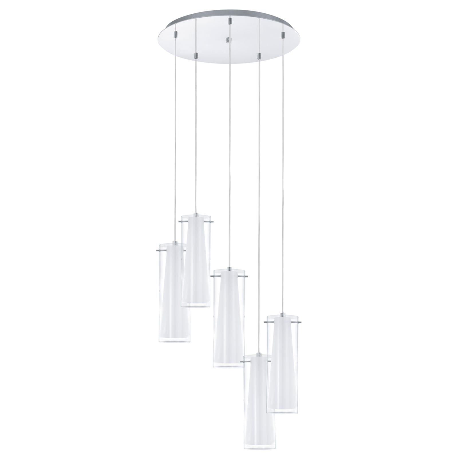 Lampa wisząca PINTO, 5-punktowa
