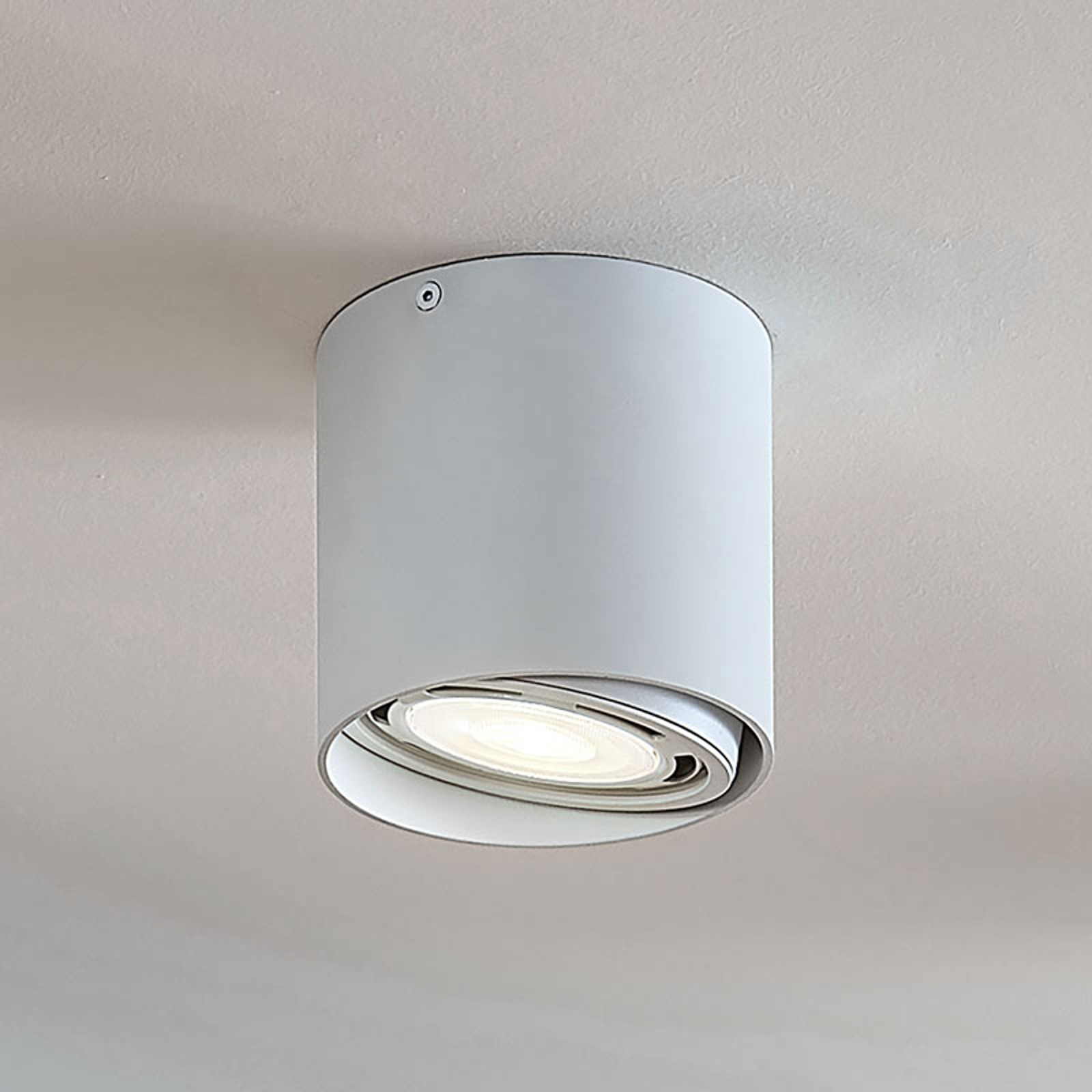 LED downlight Rosalie, dimbaar 1-lamp, rond, wit