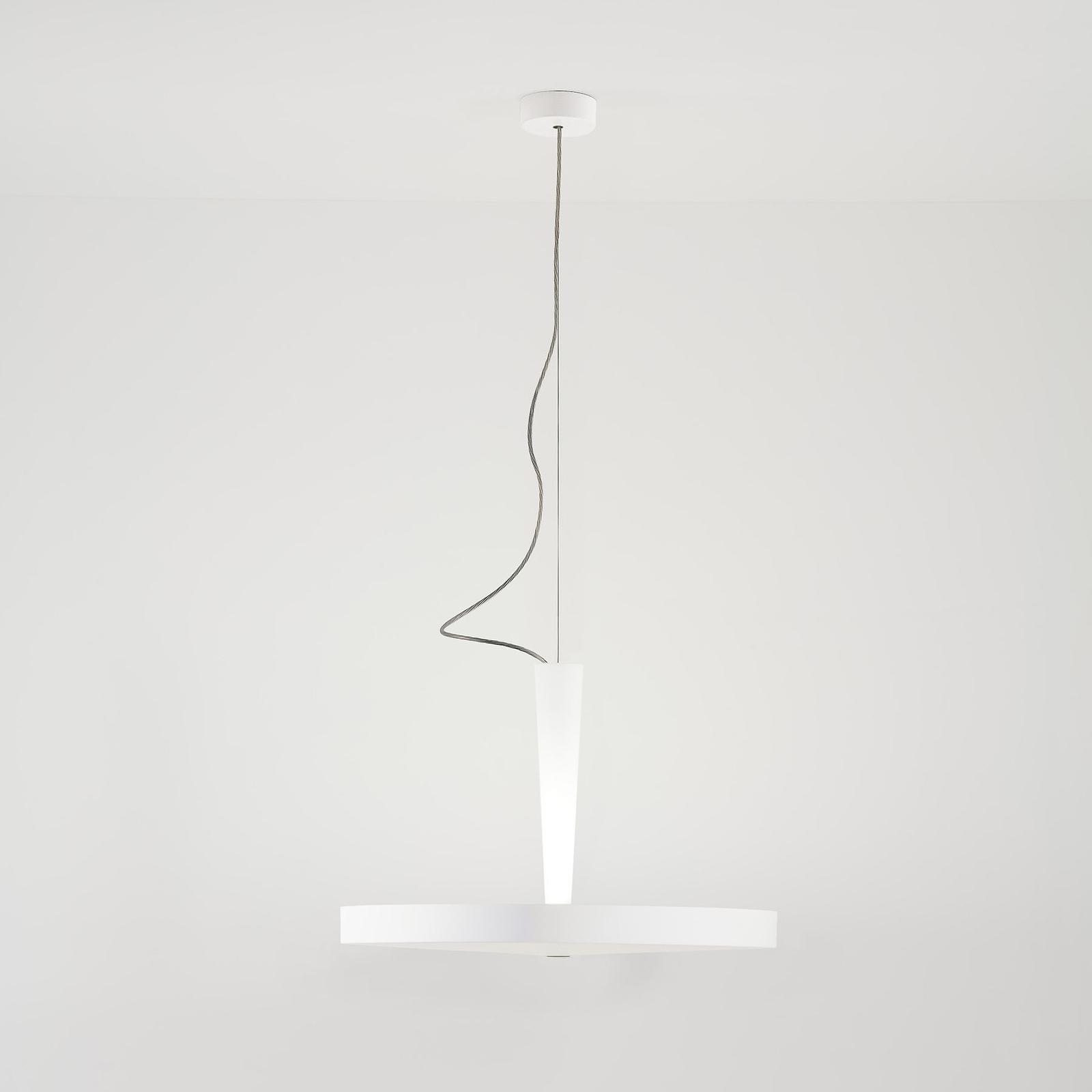 Prandina Equilibre Halo S3 hanglamp wit