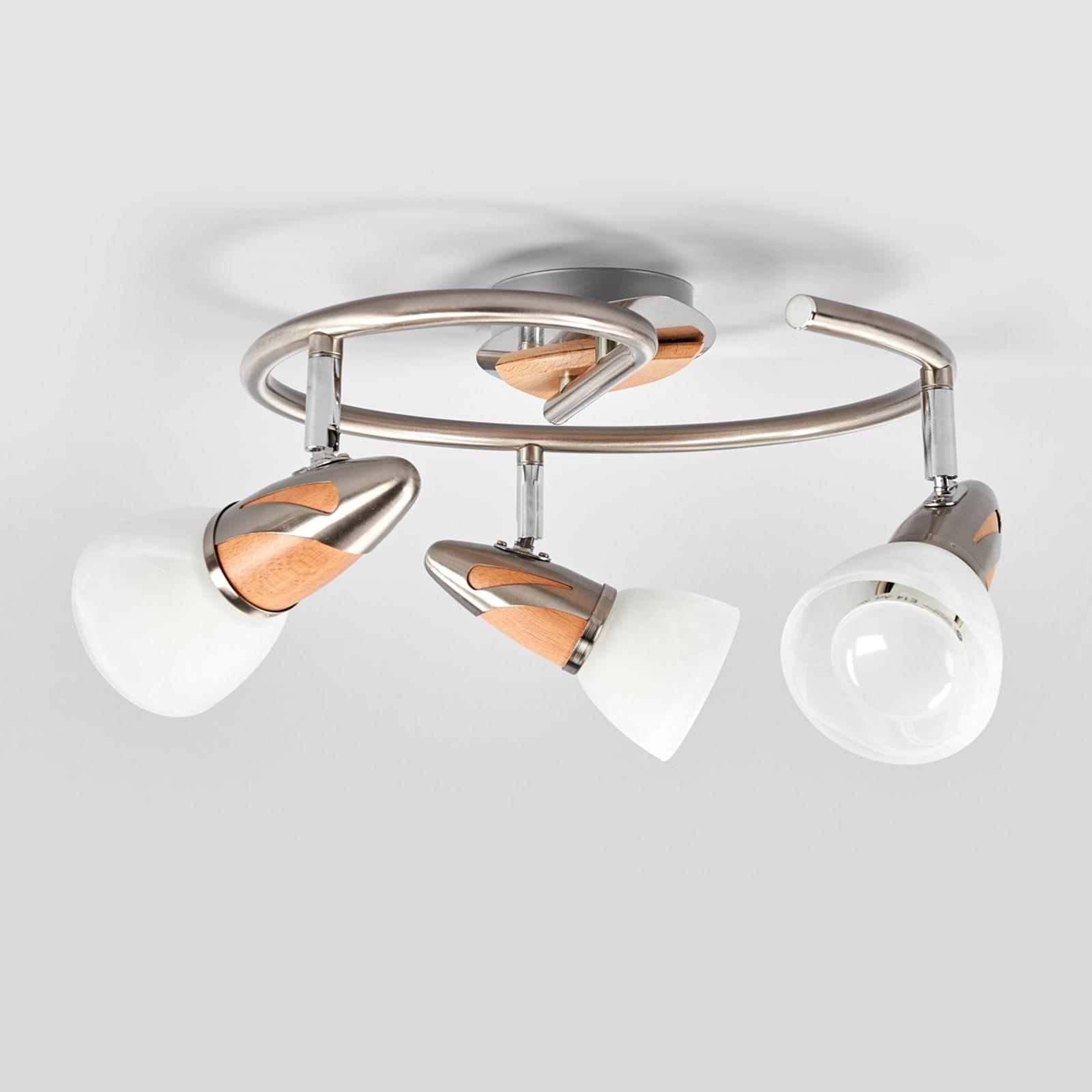 Marena taklampe med 3 LED lys | Lampegiganten.no
