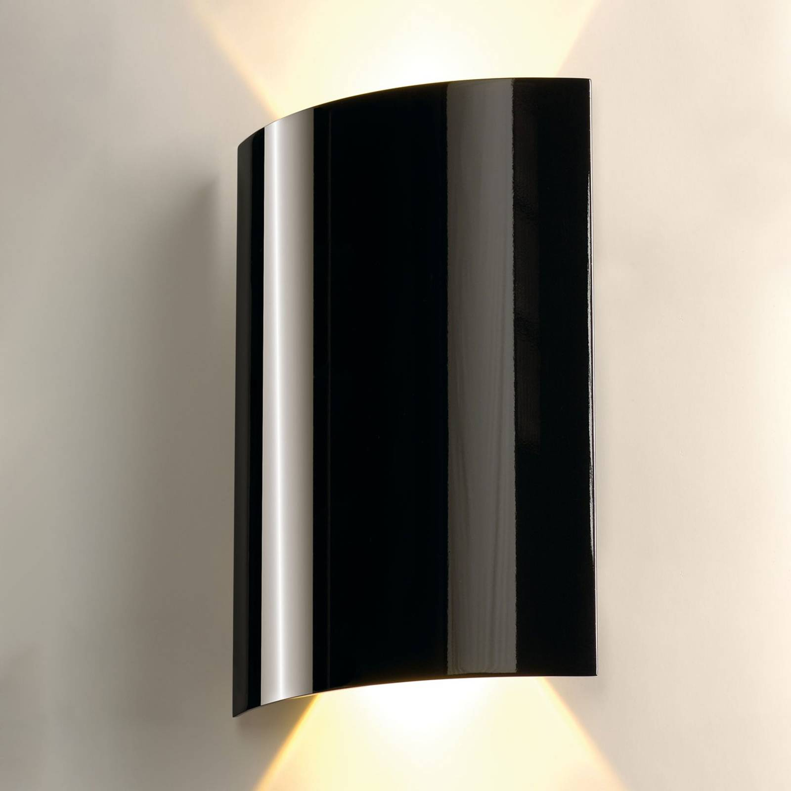 SLV Applique a LED 2 luci 30 cm nero