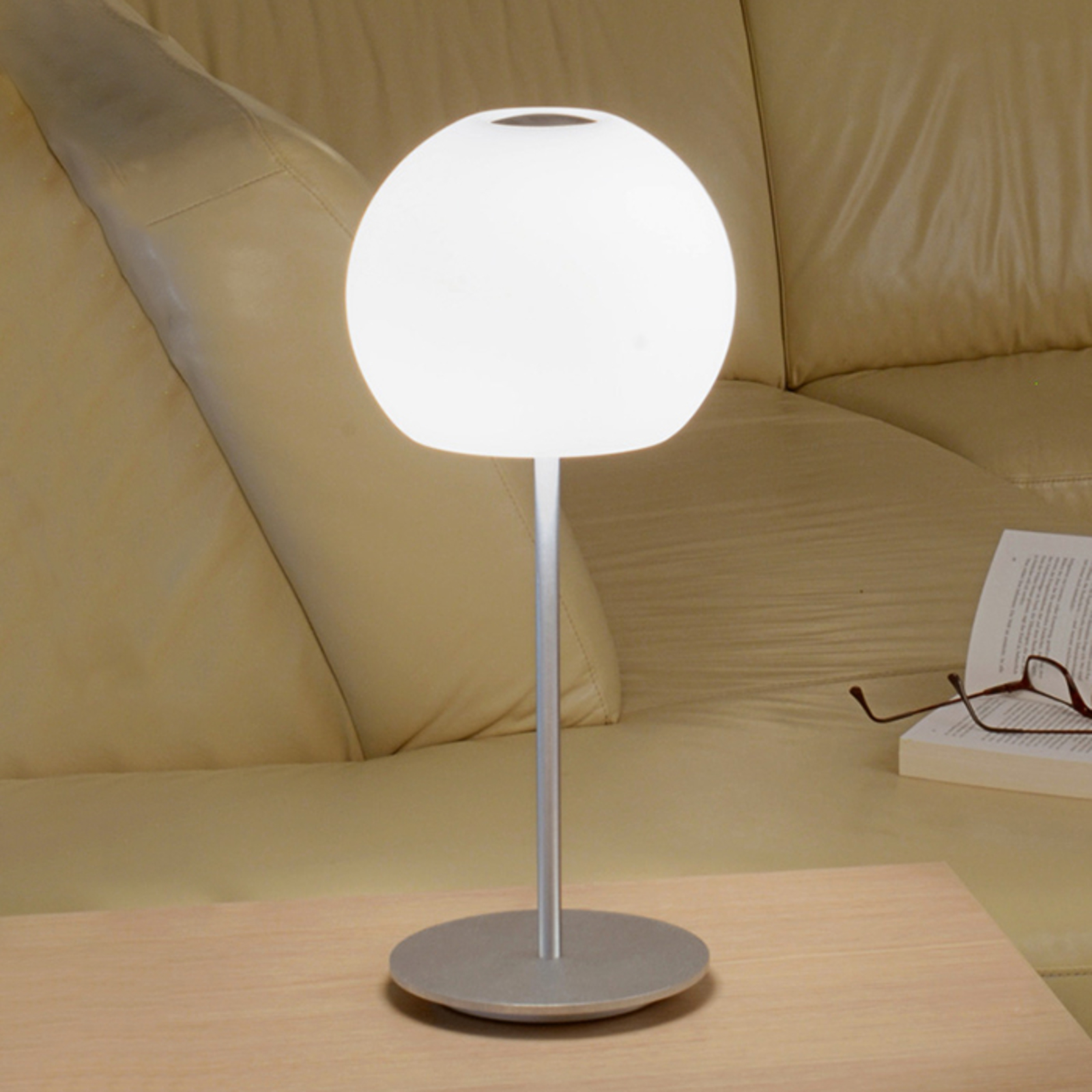 Casablanca Ball table lamp, height 49 cm_2000312_1