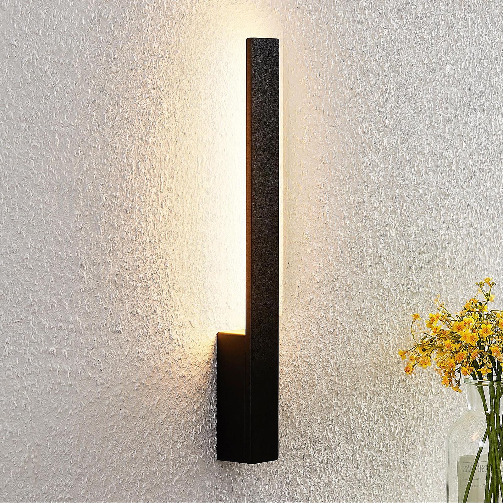 Arcchio Thiago LED-Wandleuchte, schwarz