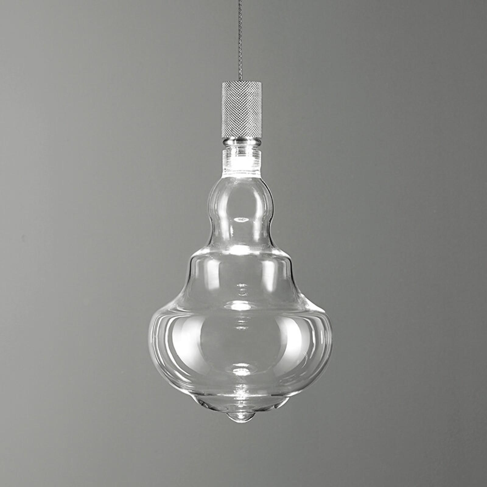 Honey transparent – LED-hengelampe