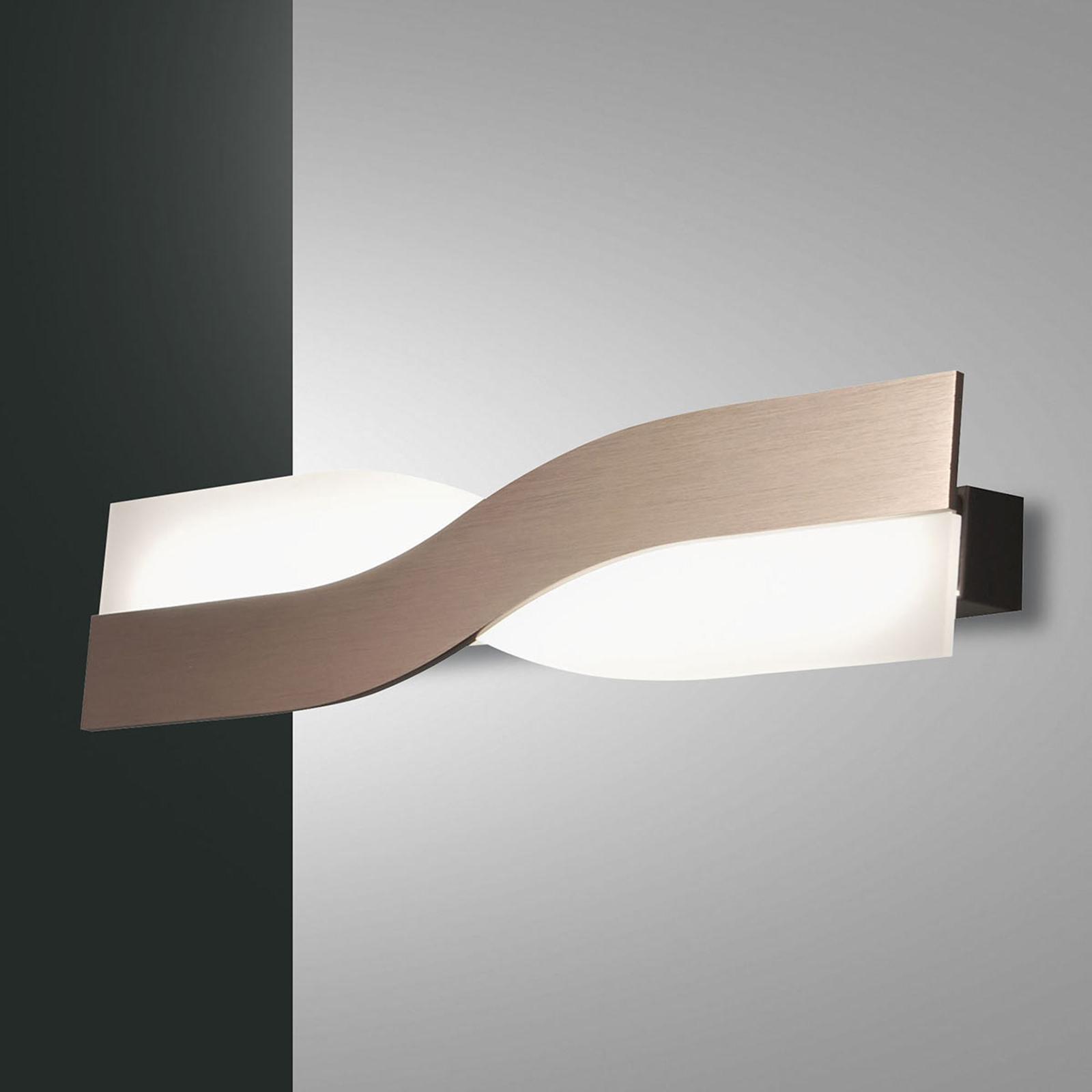 LED wandlamp Riace 50 cm brons