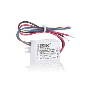 AcTEC Mini driver LED CC 350mA, 4W, IP65