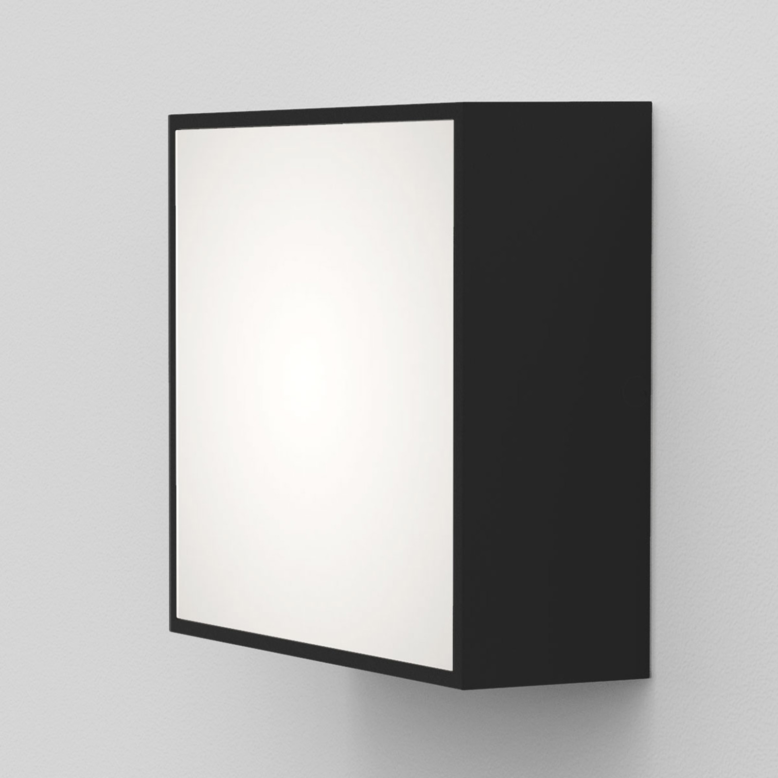 Astro Kea Square 140 LED wandlamp zwart