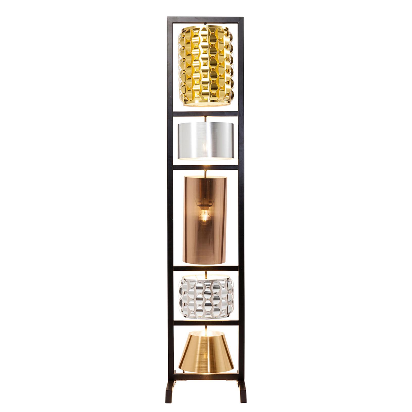 KARE Parecchi Glamour 5-lamps vloerlamp