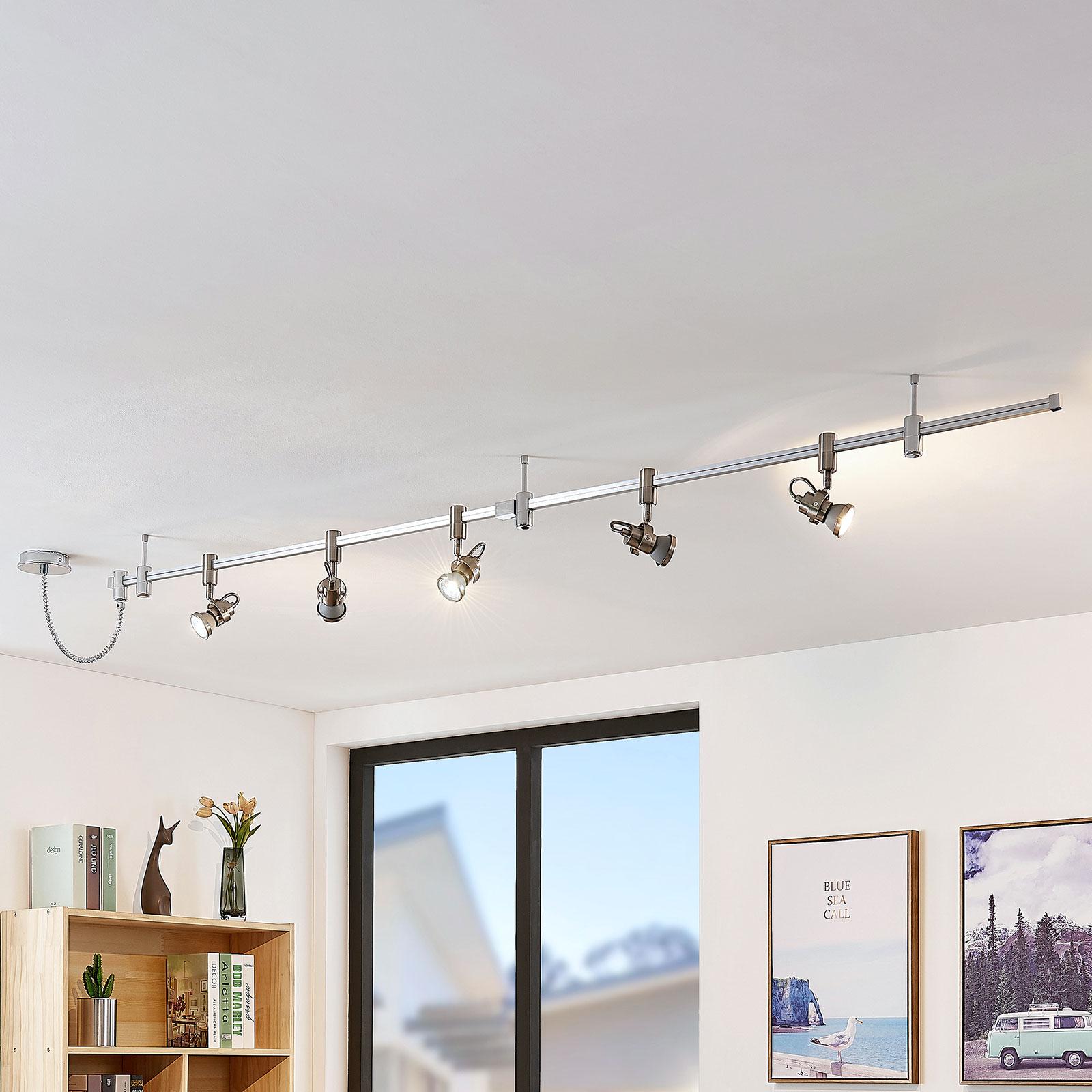 LED-högspänningsskensystem Alayah, GU10