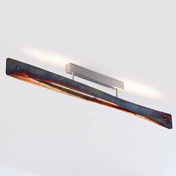 Lucande Lian LED-Deckenlampe, gold oxidiert