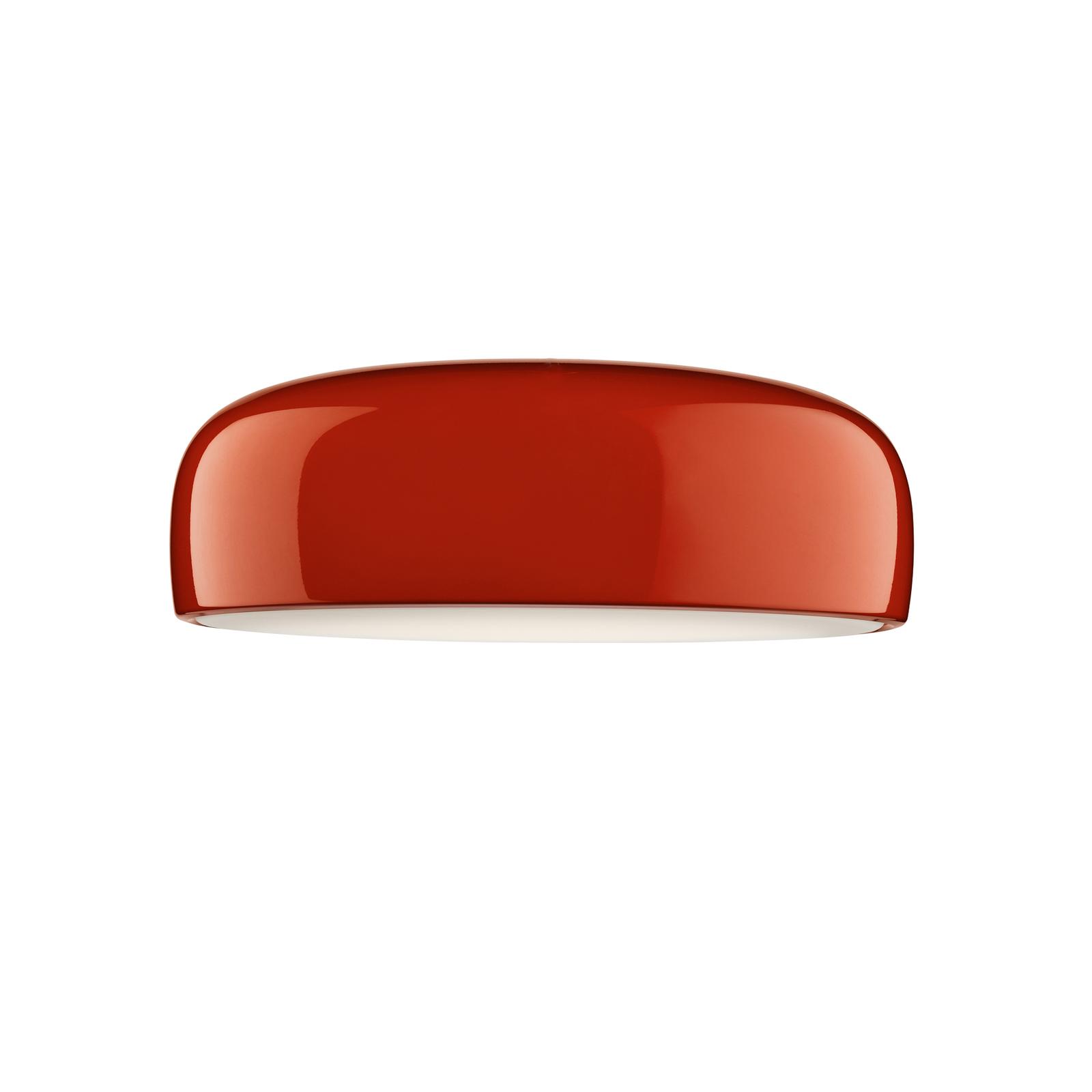 FLOS Smithfield C LED-loftlampe i rød