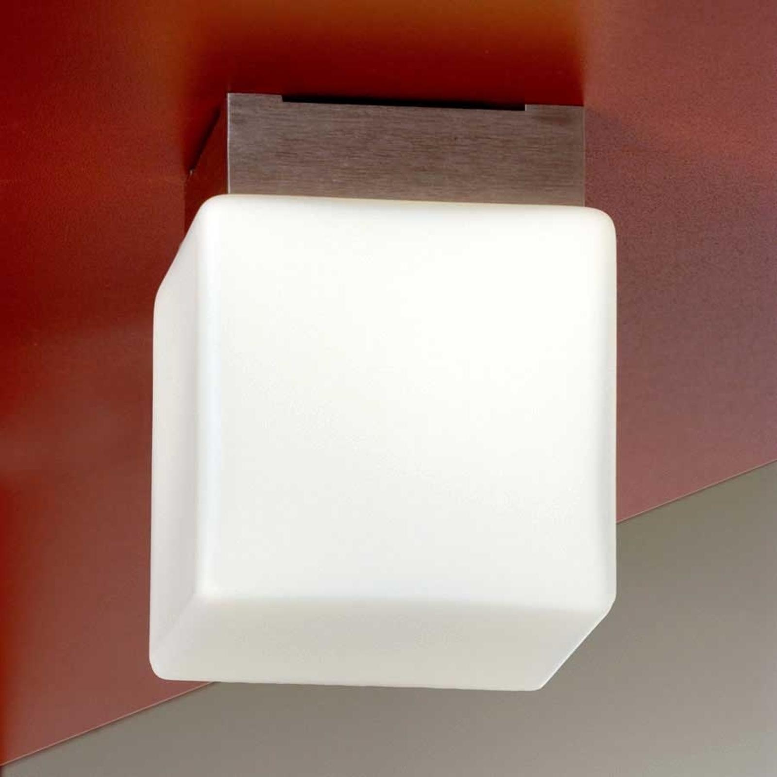Plafonnier Cube 8 cm