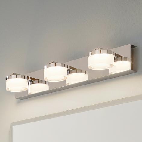 Lámpara de espejo LED Romendo con 3 bombillas