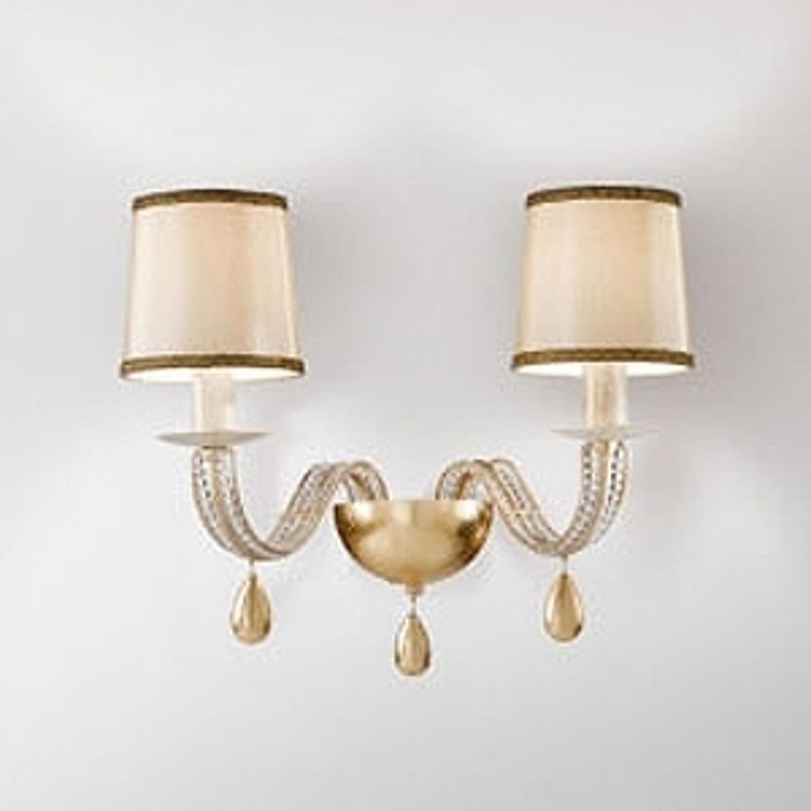 2-lichts wandlamp ANOUK