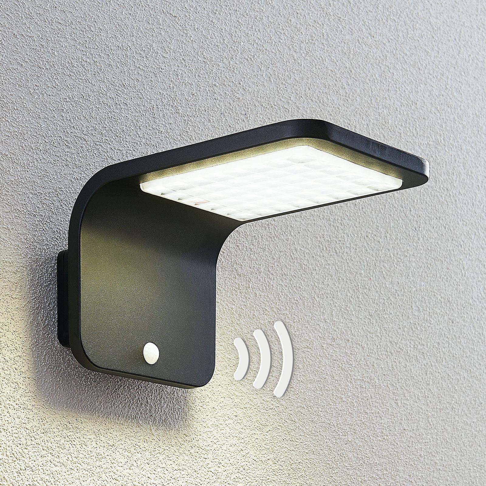 Lindby Koleno LED-Solarstrahler mit Sensor, IP54