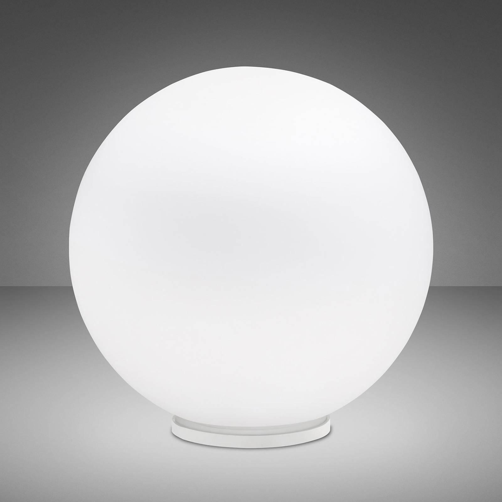 Fabbian Lumi Sfera tafellamp, liggend, Ø 40 cm