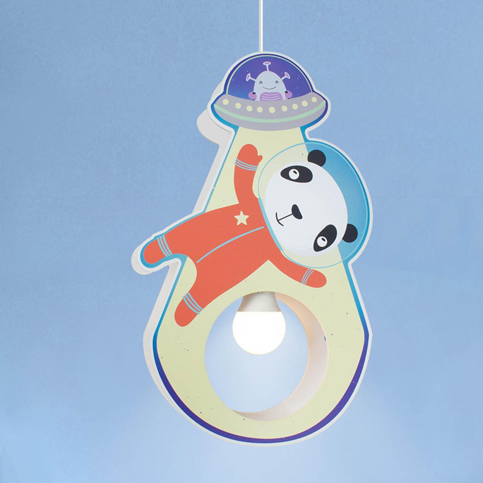 Pendelleuchte Little Astronauts Panda