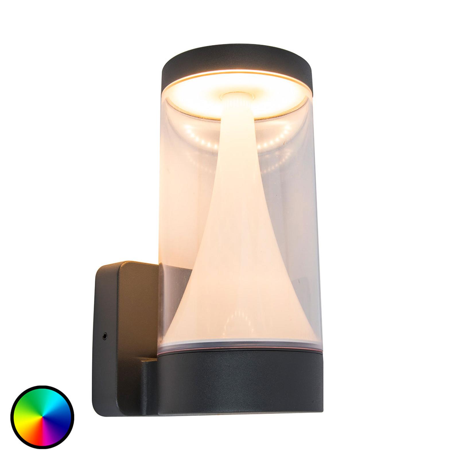 WiZ LED-utomhusvägglampa Spica