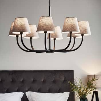 Ljuskrona Cozy, 8 lampor