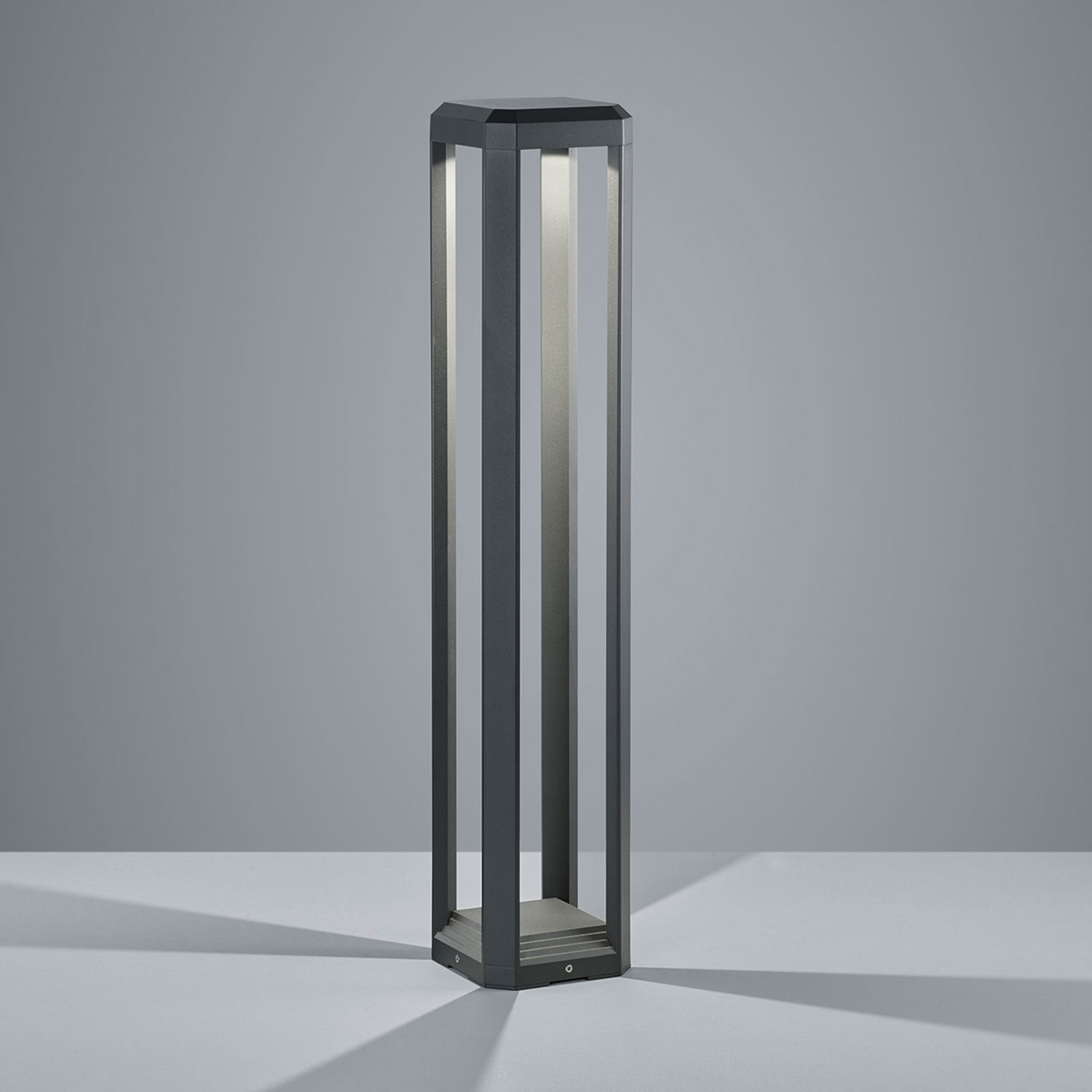 LED-Wegeleuchte Logone - 80 cm hoch
