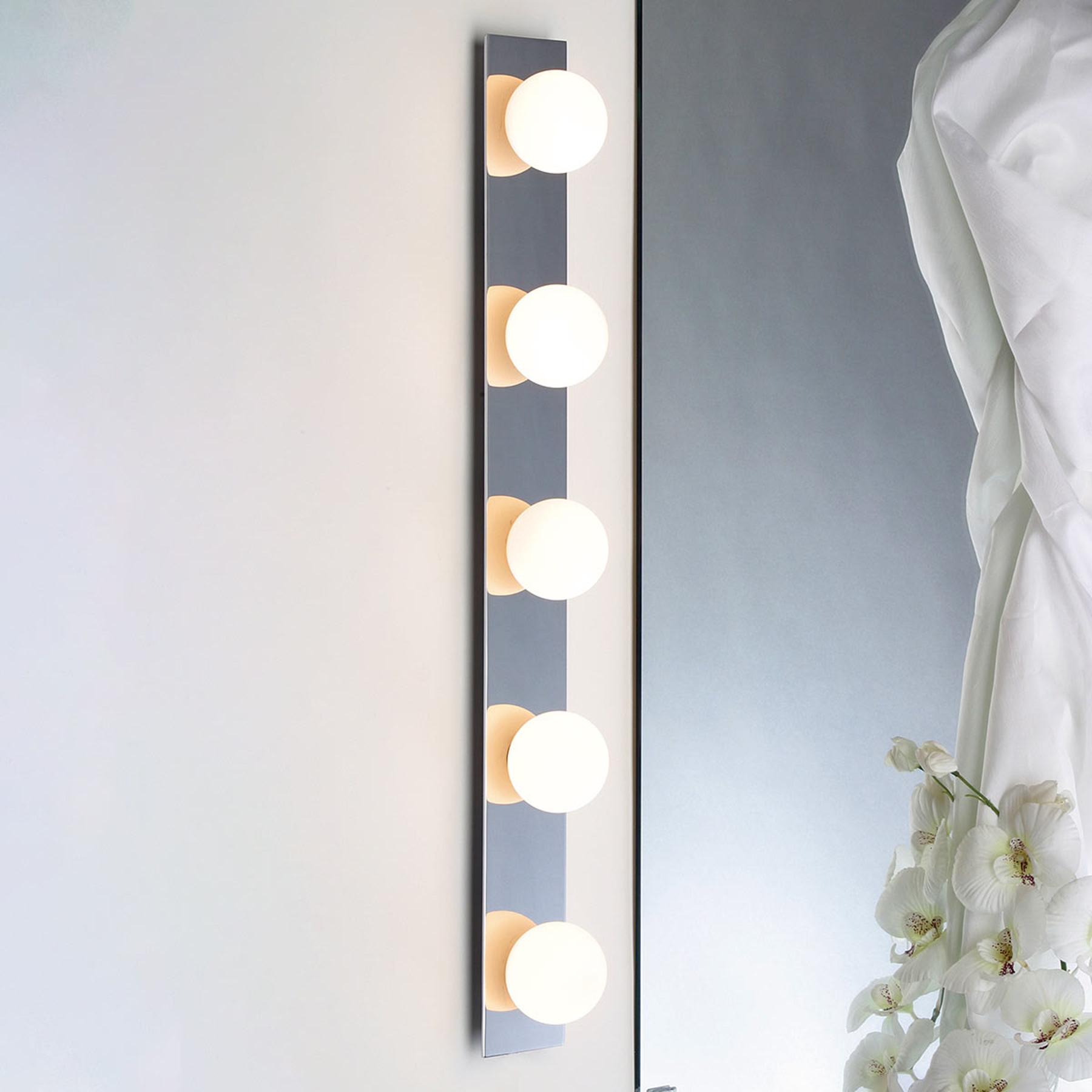 BULBSTRIP, 5-lichts bolvormige wandlamp